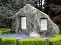 Robert Scott memorial boulder