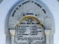 Seaward Downs war memorial, 2008.    Details from ...