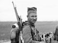 Serbian infantryman