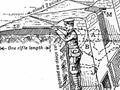 A trench, as depicted in a British training manual