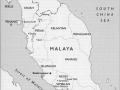 Malayan Emergency map
