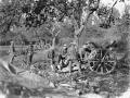 New Zealand gunners near Le Quesnoy, 1918