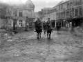 Officers entering Le Quesnoy, 1918