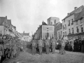 Marching through Le Quesnoy, 1918