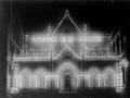 Parliament Buildings lit up on Dominion Day, 1907