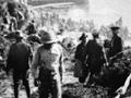 Climbing out of Anzac Cove, 1915