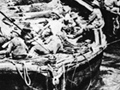 Evacuating wounded from Anzac Cove