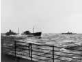 Merchant ships en route to Britain