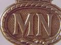 Merchant Navy WW2 identification badge