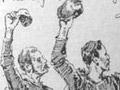 The war cry (cartoon), NZ Natives' Rugby Tour of 1888/89