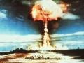Mururoa Atoll bomb test