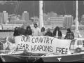Nuclear-free New Zealand protestors