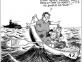 Cast adrift from ANZUS cartoon