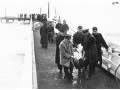 <em>Wahine</em> survivors at Seatoun wharf