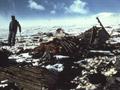 Crash site on Mt Erebus