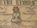 The 'Tiki Times', POW newspaper