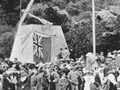 Opening of James Cook Monument, 1913
