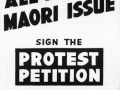 All Black- Maori protest poster