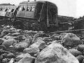 Wreckage of carriage at Tangiwai