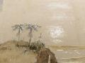 Painting of Aoraki/Mt Cook, 1846