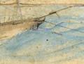 The <em>Cuba</em> at anchor, 1840