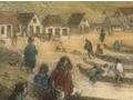 Painting of Te Aro pa, 1847