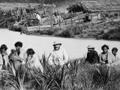Maori encampment at Helensville