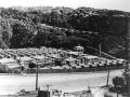 US forces camp in Central Park, Wellington