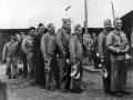 US Marines in mess queue