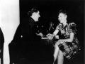 American serviceman chatting up Kiwi woman