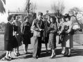 War brides leaving for the US