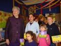 Dame Silvia Cartwright visiting school