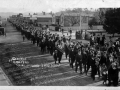 Strikers march, 1912 Waihi strike