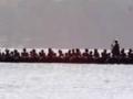 Ngāpuhi war canoe at Waitangi