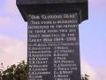 Norsewood First World War memorial