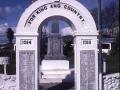 Hunterville war memorial