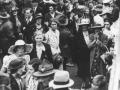 Farewelling troops at Lyttelton, 1940