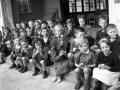 Children eating school apples