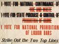 NZ Alliance prohibition poster