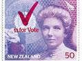 Women's suffrage stamp