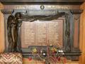 Tapanui Lodge roll of honour board
