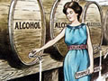 Anti-alcohol cartoon from 1905