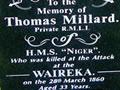 Thomas Millard grave