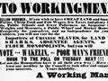 1853 electoral poster