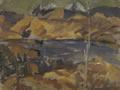 View towards Mount Richmond, Toss Woollaston