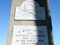 Tuturau war memorial