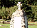 Waihi NZ Wars memorial cairn