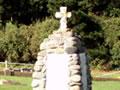 Waihi NZ Wars memorial cairn