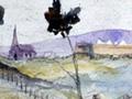 Rangiaowhia, March, 1864, by Edward Arthur William...