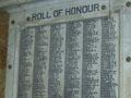 Railways Department roll of honour board, Wellington